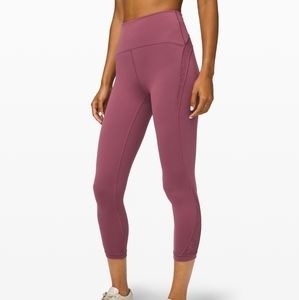 "🆕️ Lululemon Wunder Under HR Crop 23"" Flocked"